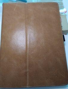 "BoriYaun Leather 9.7"" iPad Case Folio"
